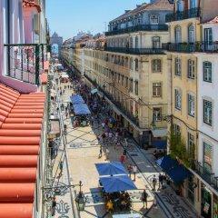 Отель Be Poet Baixa Hotel Португалия, Лиссабон - отзывы, цены и фото номеров - забронировать отель Be Poet Baixa Hotel онлайн балкон