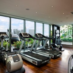 The Fullerton Bay Hotel Singapore фитнесс-зал