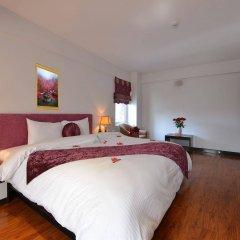 Отель Golden Sun Suites Hotel Вьетнам, Ханой - отзывы, цены и фото номеров - забронировать отель Golden Sun Suites Hotel онлайн комната для гостей фото 4