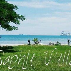 Отель Saphli Villa Beach Resort пляж фото 2