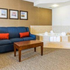 Отель Comfort Suites Manassas Battlefield Park комната для гостей