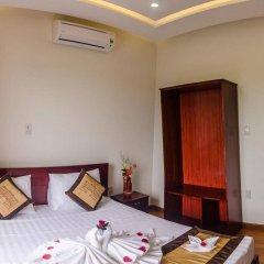 Отель Green Grass Land Villa сейф в номере