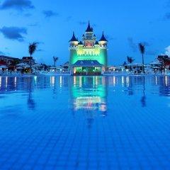 Отель Fantasia Bahia Principe Punta Cana - All Inclusive Доминикана, Пунта Кана - отзывы, цены и фото номеров - забронировать отель Fantasia Bahia Principe Punta Cana - All Inclusive онлайн пляж фото 2