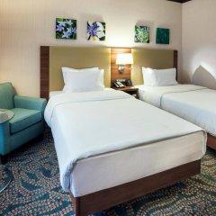 Гостиница Hilton Garden Inn Astana Казахстан, Нур-Султан - 1 отзыв об отеле, цены и фото номеров - забронировать гостиницу Hilton Garden Inn Astana онлайн комната для гостей фото 2