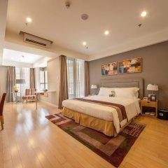 Отель Somerset Garden City Shenzhen Hotel Китай, Шэньчжэнь - отзывы, цены и фото номеров - забронировать отель Somerset Garden City Shenzhen Hotel онлайн комната для гостей фото 3