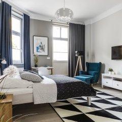 Апартаменты Sanhaus Apartments - Chopina Сопот комната для гостей фото 4