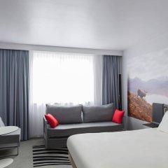 Отель Novotel Edinburgh Centre Великобритания, Эдинбург - отзывы, цены и фото номеров - забронировать отель Novotel Edinburgh Centre онлайн комната для гостей фото 3
