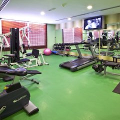 Отель Landmark Riqqa Дубай фитнесс-зал фото 4