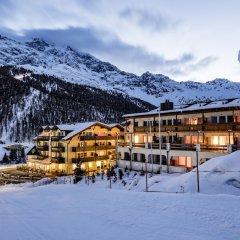 Отель Paradies pure mountain resort Стельвио вид на фасад