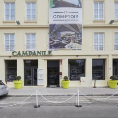 Отель Campanile Lyon Centre - Gare Perrache - Confluence парковка