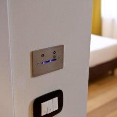 Hotel Duca D'Aosta Аоста сейф в номере