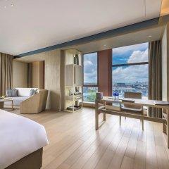 Отель Novotel Shanghai Clover комната для гостей фото 4