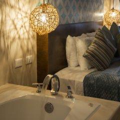 Отель Quinta Margarita Boho Chic Плая-дель-Кармен ванная фото 2