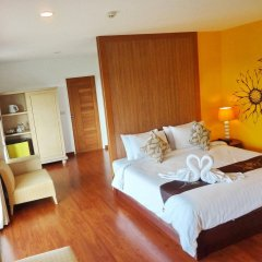 Bussaba Bangkok Suvarnabhumi Airport Hotel комната для гостей фото 3