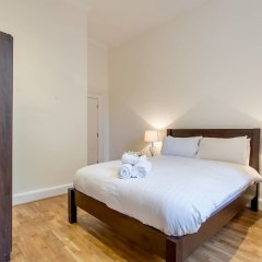 Апартаменты Charlotte Sq. Apartment Private Garden Эдинбург комната для гостей фото 4