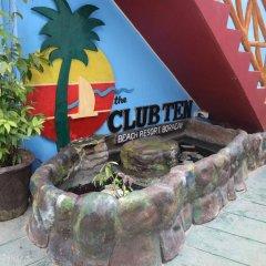 Отель The Club Ten Beach Resort Филиппины, остров Боракай - отзывы, цены и фото номеров - забронировать отель The Club Ten Beach Resort онлайн приотельная территория