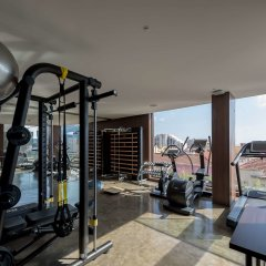 Отель Lux Lisboa Park фитнесс-зал