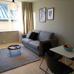 Апартаменты Forenom Apartments Stockholm Johannesgatan комната для гостей фото 2