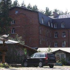 Гостиница Лесная Поляна парковка