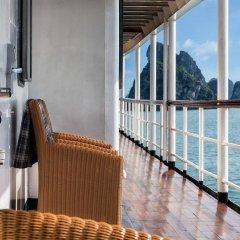 Отель Emeraude Classic Cruises Вьетнам, Халонг - отзывы, цены и фото номеров - забронировать отель Emeraude Classic Cruises онлайн балкон