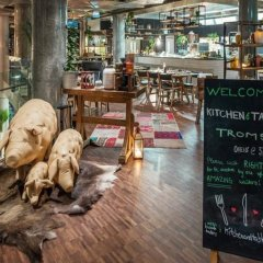 Отель Clarion Edge Тромсе гостиничный бар