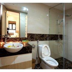 Отель Golden Diamond Hotel Вьетнам, Ханой - отзывы, цены и фото номеров - забронировать отель Golden Diamond Hotel онлайн ванная фото 2