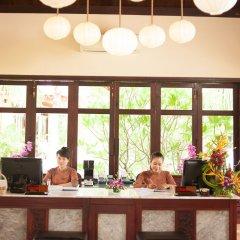 Отель Vinh Hung Riverside Resort & Spa интерьер отеля фото 3