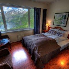 Отель Hotell Utsikten Geiranger - by Classic Norway комната для гостей