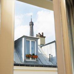 Отель Hôtel Tour Eiffel Франция, Париж - 1 отзыв об отеле, цены и фото номеров - забронировать отель Hôtel Tour Eiffel онлайн балкон