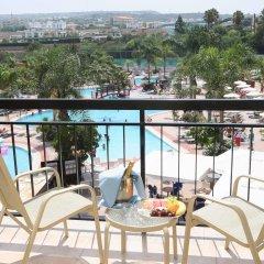Отель Tsokkos Gardens Hotel Кипр, Протарас - 1 отзыв об отеле, цены и фото номеров - забронировать отель Tsokkos Gardens Hotel онлайн балкон