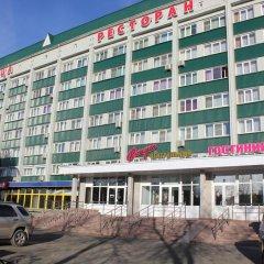Отель Центральная Бийск вид на фасад