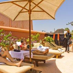 Отель Dar Anika Марокко, Марракеш - отзывы, цены и фото номеров - забронировать отель Dar Anika онлайн бассейн фото 3