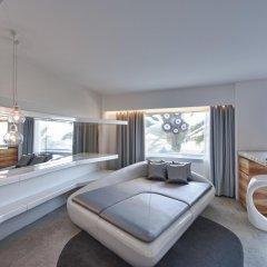 Отель Ushuaia Ibiza Beach Hotel - Adults Only Испания, Сант Джордин де Сес Салинес - 4 отзыва об отеле, цены и фото номеров - забронировать отель Ushuaia Ibiza Beach Hotel - Adults Only онлайн комната для гостей фото 5
