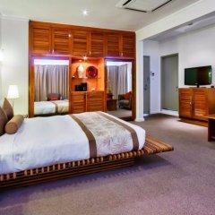 Отель Tanoa Plaza Suva Фиджи, Вити-Леву - отзывы, цены и фото номеров - забронировать отель Tanoa Plaza Suva онлайн комната для гостей фото 4