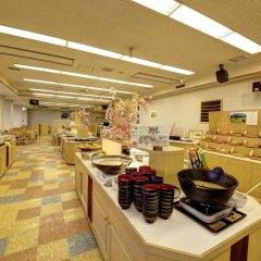 Отель Kyukamura Minami-Aso National Park Resort Villages Of Japan Минамиогуни питание