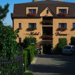 Hotel Diana Прага парковка