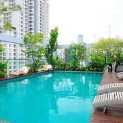 Апартаменты Sabai Sathorn Serviced Apartment Бангкок бассейн фото 3