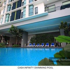 Отель Casa Residency Condomonium Малайзия, Куала-Лумпур - отзывы, цены и фото номеров - забронировать отель Casa Residency Condomonium онлайн бассейн