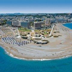 Отель Oktober Down Town Rooms Греция, Родос - отзывы, цены и фото номеров - забронировать отель Oktober Down Town Rooms онлайн пляж фото 2