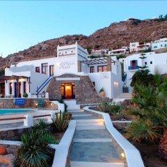 Отель Olia Hotel Греция, Турлос - 1 отзыв об отеле, цены и фото номеров - забронировать отель Olia Hotel онлайн бассейн фото 3