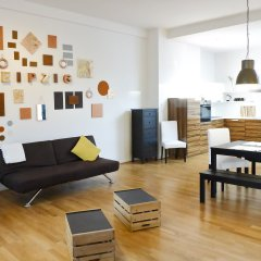 Five Elements Hostel Leipzig комната для гостей