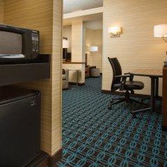 Отель Fairfield Inn & Suites by Marriott Columbus OSU США, Колумбус - отзывы, цены и фото номеров - забронировать отель Fairfield Inn & Suites by Marriott Columbus OSU онлайн удобства в номере фото 2