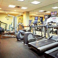 Отель Courtyard New York JFK Airport США, Нью-Йорк - отзывы, цены и фото номеров - забронировать отель Courtyard New York JFK Airport онлайн фитнесс-зал фото 3