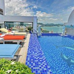 Boss Hotel Nha Trang Нячанг бассейн