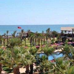 Отель Hasdrubal Thalassa & Spa Djerba Тунис, Мидун - 1 отзыв об отеле, цены и фото номеров - забронировать отель Hasdrubal Thalassa & Spa Djerba онлайн пляж фото 2