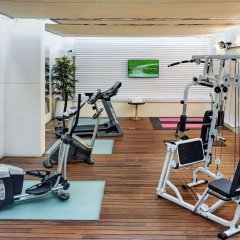 Отель Sercotel Coliseo фитнесс-зал фото 4