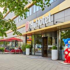 Отель Ramada Hotel Berlin-Alexanderplatz Германия, Берлин - отзывы, цены и фото номеров - забронировать отель Ramada Hotel Berlin-Alexanderplatz онлайн вид на фасад
