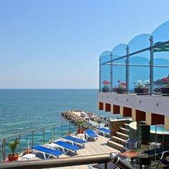 Отель Бижу Равда пляж фото 2