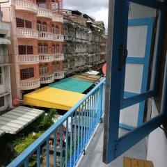Отель Sleep BKK балкон