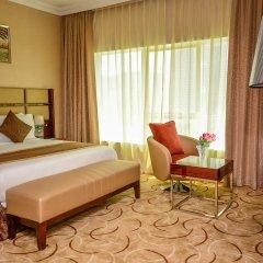 Al Salam Grand Hotel-Sharjah комната для гостей